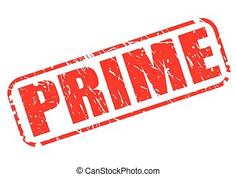 PRIME SALE red stamp text