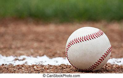 primer plano, beisball