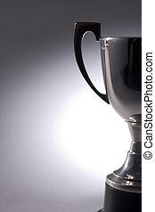 primer plano, de, trofeo