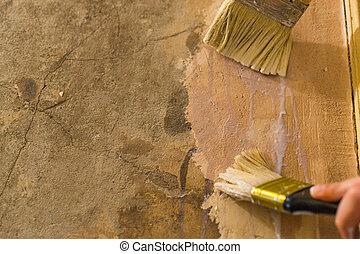 primer wall repair