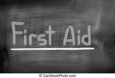 primeros auxilios, concepto