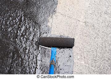 priming, screed, beton
