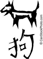 Primitive Chinese Zodiac Sign- Dog