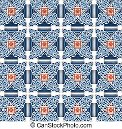 Primitive simple modern pattern