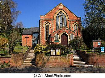 primitivo, metodista, iglesia