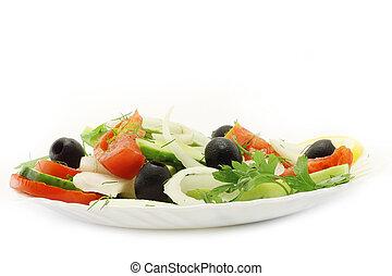 primo piano, insalata