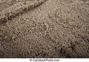 primo piano, sabbia