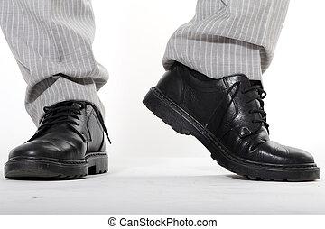 primo piano, scarpe