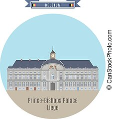 Prince-Bishops Palace, Liege, Belgium