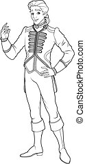 Prince Charming Coloring Page - Prince Charming coloring ...