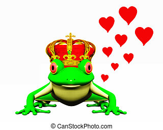 prince, grenouille