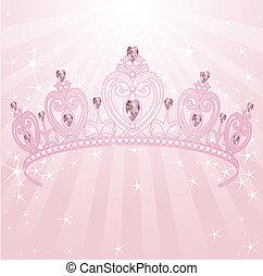 princesa, corona