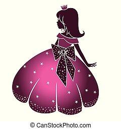princesa pequeña, belleza