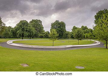Princess Diana Memorial in Hyde Park London