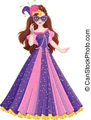 Princess Masquerade - Princess dress for masquerade