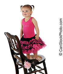 Princess on a Chair
