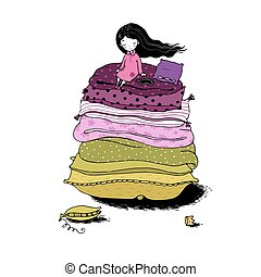 Princess on the Pea.