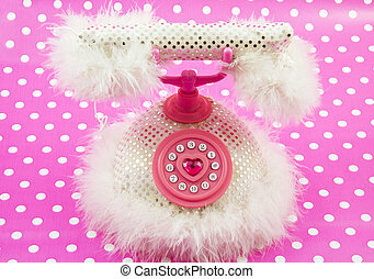 Princess pink royal phone