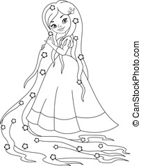 rapunzel illustrations and stock art  112 rapunzel