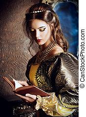 princess reading