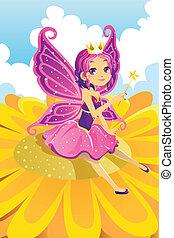 princesse féerique