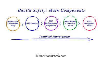 principal, componentes, safety:, saúde