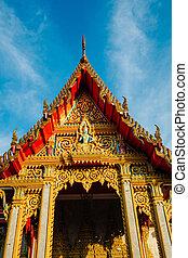 principal, phuket, wat, templo, chalong