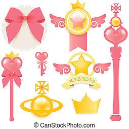 principessa, collezione