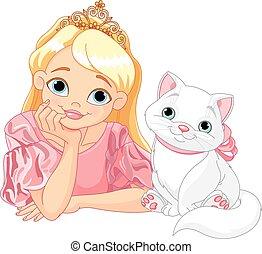 principessa, gatto