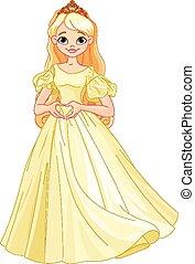 principessa, marche, forma cuore