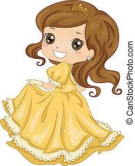 principessa, veste