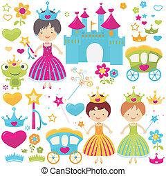 prinsesje, set