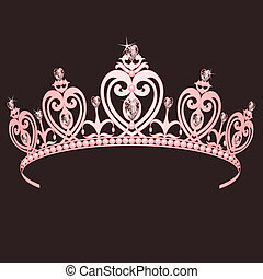prinsesse, bekranse
