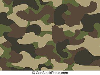 print., バックグラウンド。, 軍, 手ざわり, camo, 覆うこと, 衣類, クラシック, ∥あるいは∥, seamless, スタイル, ブラウン, カモフラージュ, 黒い森林, 色, 抽象的, オリーブ, 探求, 繰り返し, pattern., 緑