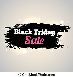 Print - Abstract shining background for Black Friday sale.
