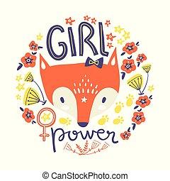 print girl power 1