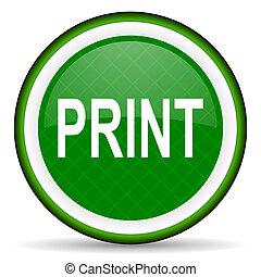 print green icon