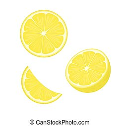 Print - illustration. lemon