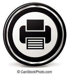 print metal icon