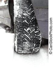 print of tire