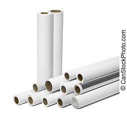 print rolls for wide-format printers