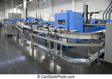 Print shop - Finishing line - Post press finishing line...
