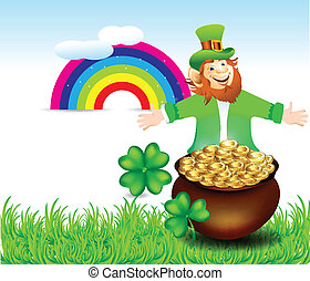 Print St Patrick's Background