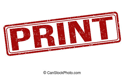Print stamp