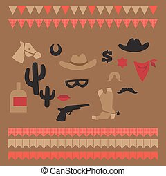 036280dc357 Bandit texas flag icon. Icon style illustration of head of a bandit ...