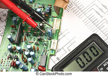 printed circuit board and electronic meter