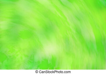 printemps, bokeh, arrière-plan vert