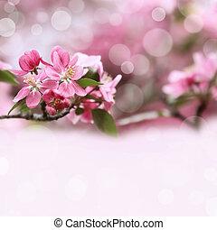 printemps, fleurs