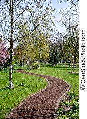 printemps, parc