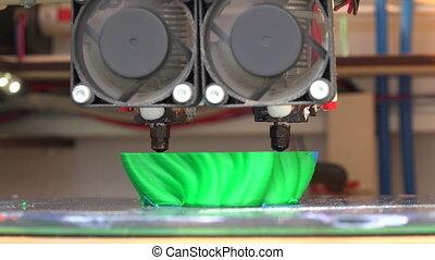 printer., fonctionnement, 3d
